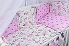 Комплект постільної білизни Asik Маленька балерина 8 предметів (8-252), фото 4