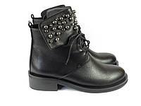 Молодежные женские ботинки на шнурках Fabio Monelli, фото 1