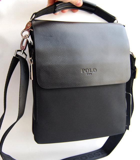 Стильная мужская сумка Polo. Сумка Polo. Сумки Поло. Качественные кожаные сумки.