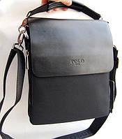 Стильная мужская сумка Polo. Сумка Polo. Сумки Поло. Качественные кожаные сумки., фото 1
