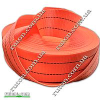 Лента буксировочная 4 т - 50 мм х 50 м для строп, стропная, стяжных ремней (полиэстер)