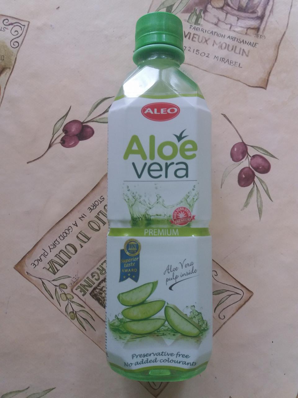 Лечебный Cок Aloe Vera с мякотью 500г (Венгрия)