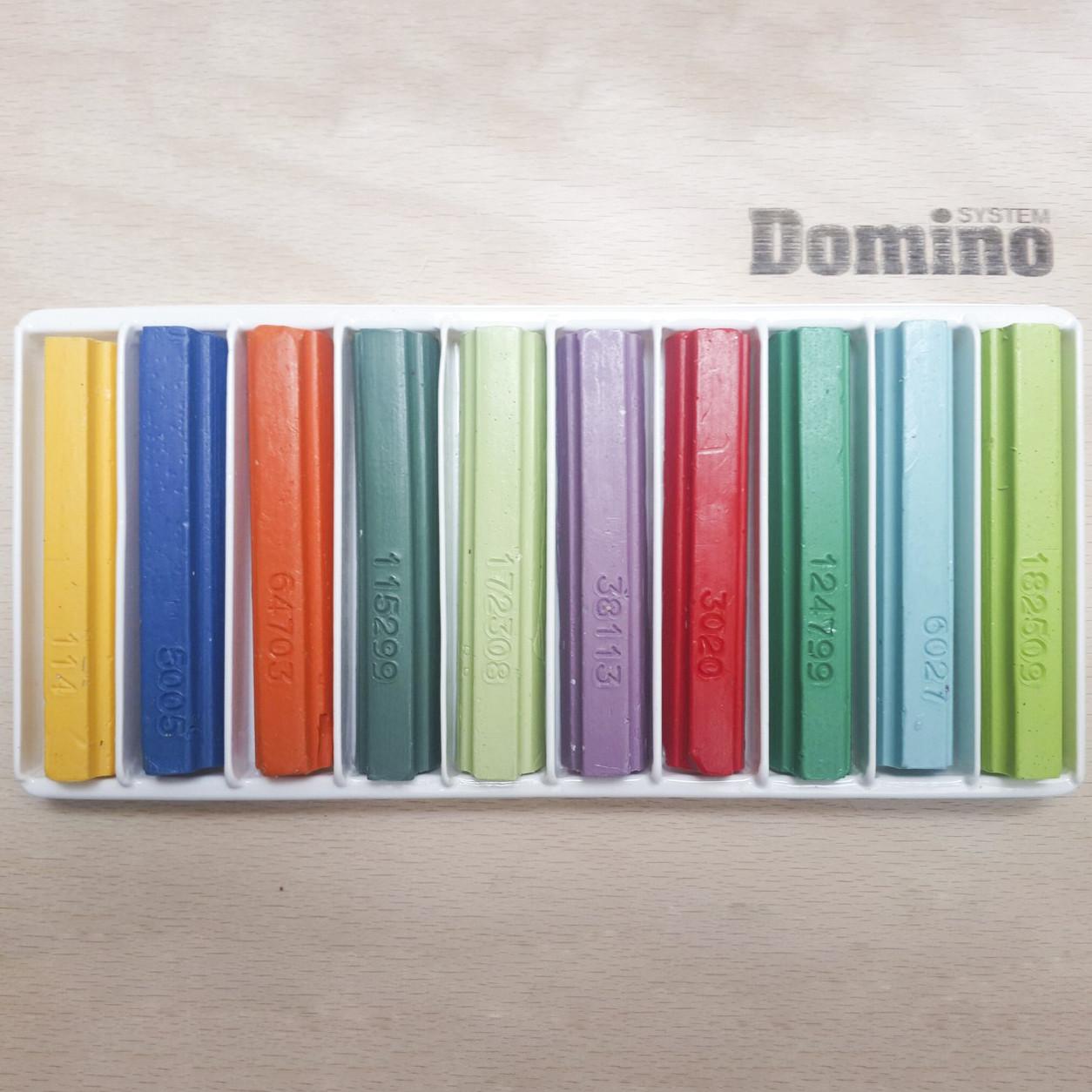 Віск меблевий м'який 10х8 см (кольорові відтінки)