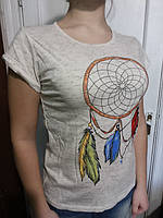 Футболка женская Турция f13 нал остался размер S