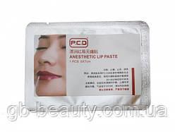 Маска - анестетик для губ PCD