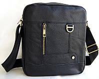 Небольшая кожаная мужская сумка. Сумка через плечо. Сумка планшет. Стильная сумка. Интернет магазин сумок.