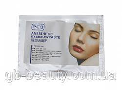 Маска - анестетик для бровей PCD