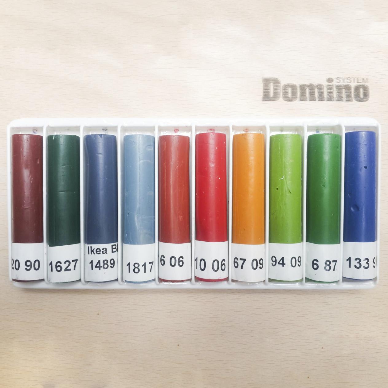 Серія крейди меблевої 10х8 см (кольорові відтінки)