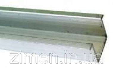 Профиль нижний DS 0,9м EKF для дверной раздвижной системы 100кг