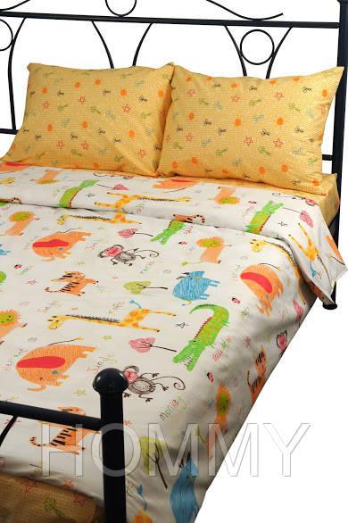 """Детский постельный комплект """"Джунгли"""""""