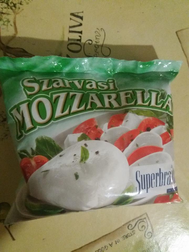 Сыр Mozzarella maxi 100г Венгрия