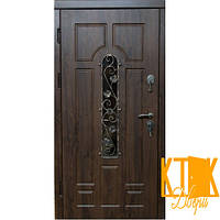 "Двери уличные ""Арка Ковка"" серии VIP+ (Дуб Бронзовый)   , фото 1"