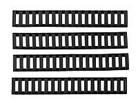 РЕЗИНОВЫЕ НАКЛАДКИ НА RIS/RAS / RIS/RAS RAIL COVER (MOD.2, BLACK)