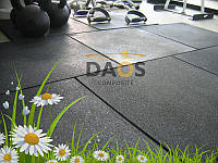 Резиновая плитка (20х1000х1000 мм) ОПТ от 100 м кв., фото 1