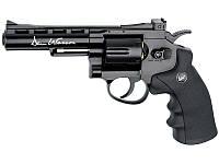 """Револьвер пневматический ASG Dan Wesson 4"""" (Black)"""