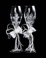 Свадебные бокалы Flowers