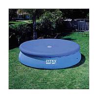 Тент для бассейнов Intex 28021 диаметром 305см, тент для накрытия бассейнов, тенты интекс
