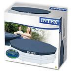 Тент для круглых каркасных бассейнов Intex 28031 диаметром 366см, тент для накрытия бассейнов, тенты интекс, фото 3