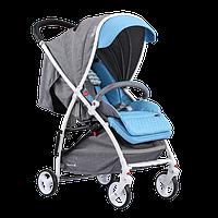 Дитяча прогулянкова коляска Quatro Lion Blue