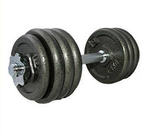 Гантель наборная железная 20 кг LiveUp c DUMBELL SET LS2311-20