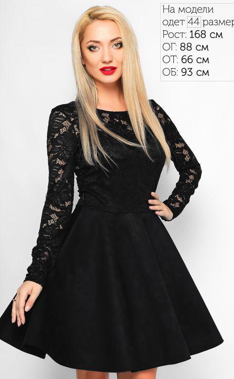 fd83fe83c08 Классическое черное платье в стиле беби- долл