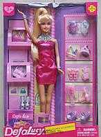Детская кукла с обувью и аксессуарами от DEFA (8233)