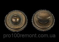 Накладка под WC дверная МВМ T6 AMAB антична матова стара бронза