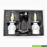 Светодиодные лампы H4 LED COB 36W 12V 3800K  C2
