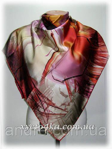 Шёлковый платок абстракция