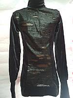Туника-платье Бархат