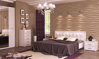 Модульна спальня Белла Миро-Марк глянець білий