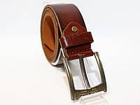 Джинсовый кожаный ремень RICHMOND