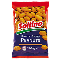 Соленый арахис Soltino 100г