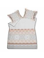 Двуспальный комплект постельного белья VANDYCK Decoration Cool grey