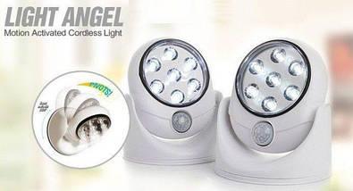 Универсальная LED лампа-подсветка с датчиком движения Light Angel, фото 2