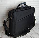 Портфель мужской. Сумка с нейлона. Отличное качество. Сумка для ноутбука. Интернет магазин сумок., фото 5