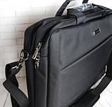 Портфель мужской. Сумка с нейлона. Отличное качество. Сумка для ноутбука. Интернет магазин сумок., фото 6