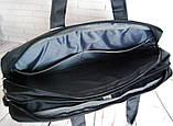 Портфель мужской. Сумка с нейлона. Отличное качество. Сумка для ноутбука. Интернет магазин сумок., фото 7