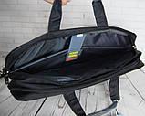 Портфель мужской. Сумка с нейлона. Отличное качество. Сумка для ноутбука. Интернет магазин сумок., фото 8