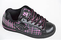 Кроссовки скейтера кожа мужские женские подростковые черные Australia (Код: 1011) , фото 1