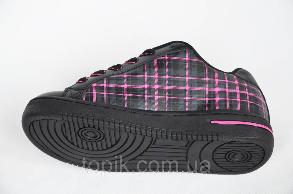 c21fd7cb ... Кроссовки скейтера кожа мужские женские подростковые черные Australia  (Код: 1011) , фото 5 ...