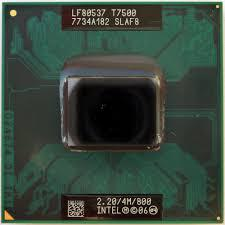 Процессор для ноутбука Intel  Core Duo T7500 2,2 Ghz/4M/+ термопаста в ПОДАРОК