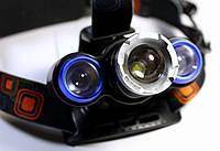 Налобный аккумуляторный фонарь Police CREE XM-L T6 LED