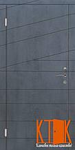Надежная входная дверь класса Премиум Диагональ 2 (венге горизонт)