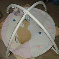 Детский развивающий коврик для младенца BAMBI медвежонок