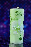 Свеча сувенирная орхидея №2