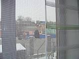 Японские занавески Салатовая полоска горизонталь, фото 3
