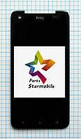 Дисплей для мобильного телефона HTC Butterfly/X920e (69*141 мм), черный, с тачскрином