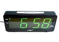 Часы электронные настольные VST 763T-2 Зеленая подсветка