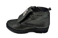 Ботинки кожаные Polin 415 Anthracite